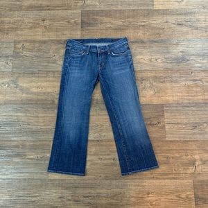 Citizens Of Humanity Low Waisted Cropped Jeans!